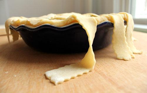 lattice pastry crust